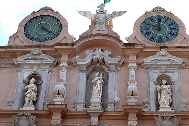 In giro nel centro storico di Trapani