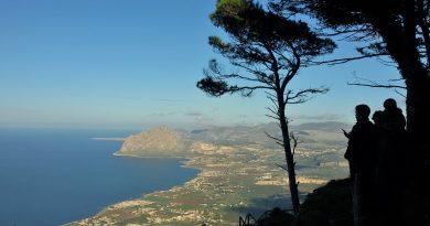 Erice: una terazza sul Mediterraneo