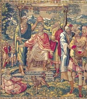 Marsala. Museo degli Arazzi fiamminghi Il racconto della guerra Giudaica.