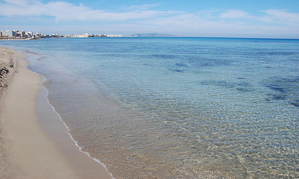 Guida alle spiagge di trapani le piu 39 belle spiagge di for Costo della costruzione della casa sulla spiaggia