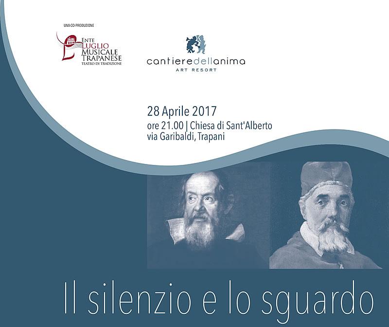 """""""Il silenzio e lo sguardo"""", dialogo immaginato tra Galileo Galilei e Papa Urbano VII"""