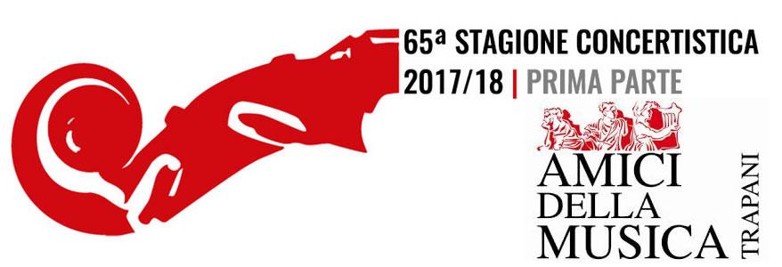 65a Stagione concertistica 2017/2018 Amici della Musica Trapani