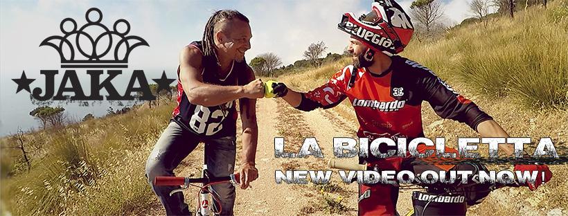 """""""La bicicletta"""", il nuovo brano di Jaka, un inno all'utilizzo delle due ruote"""
