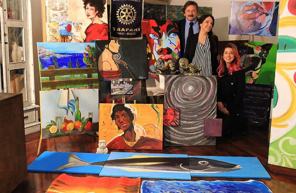 L'arte al servizio del riscatto sociale – Sabato 25 febbraio al Mulino delle Saline Ettore Infersa